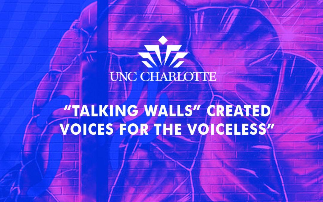 "NINER Times: ""Talking Walls Produces Murals Across Charlotte"""