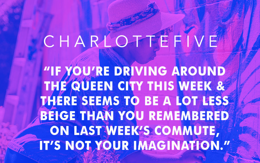 """Charlotte Five: """"Charlotte just got 16 New Murals Last Weekend – Here's Where to Find Them"""""""